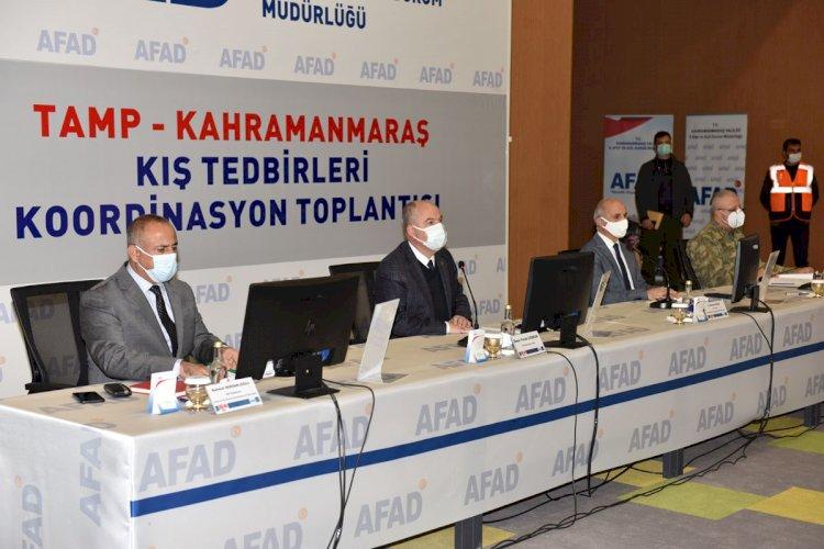 Kış Tedbirleri Koordinasyon Kurulu Toplatısı Yapıldı