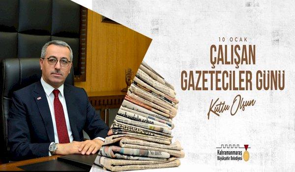 Başkan Güngör'den Gazeteciler Günü Mesajı