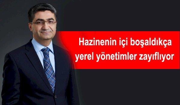 Mehmet Emin Ekmen:  'İktidar kendi kötü yönetiminin faturasını belediyelere kesiyor'
