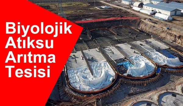 Büyükşehir'den Elbistan'a Atıksu Arıtma Tesisi