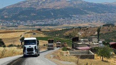Onikişubat'a Yeni Köprü ve Asfalt