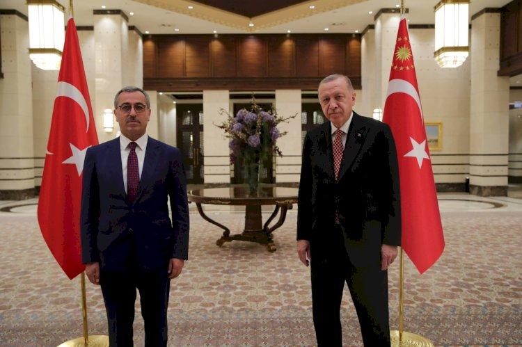 Güngör, Cumhurbaşkanı Erdoğan İle Görüştü