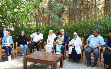 Başkan Güngör Şehit ve Gazi Yakınlarıyla Buluştu